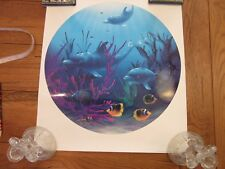 """The Heavenly Waters""  DAVID MILLER LITHO 1995 LIMITED EDITION 851/950 SIGNED"