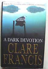 CLARE FRANCIS recalled true 1st ed with misprints 1997 A DARK DEVOTION HB DJ