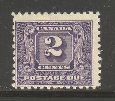 Canada #J7, 1930 2c Postage Due - Second Postage Due Series, Unused Hinged