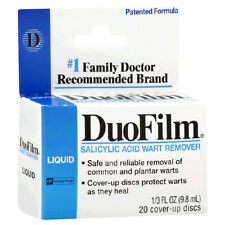Duofilm Liquid Salicylic Acid 1% Wart Remover 1/3 Oz (Pack Of Two Bottles)
