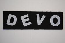 Devo Cloth Patch (CP215) Punk Rock Adicts Sex Pistols Ramones The Clash B-52's