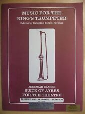 More details for music for the king's trumpeter trumpet & piano pub. schauer mn30034