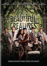 Beautiful Creatures- DVD- Alice Englert, Jeremy Irons - 2013 - PG-13 - Fantasy