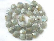 """labradorite square faceted 12*5mm nature beads 15"""" wholesale"""