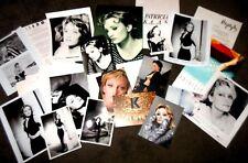 PATRICIA KAAS Large Official MEGA RARE Press Kit Lot With 10 Promo Photos