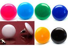 KS015m Ohrstecker Ohrringe farbigen Pillen ein Paar Ohrringe*