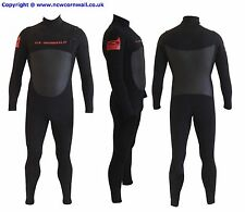 3/2 front mini zip full surfing wetsuit.U-stretch Neo 700% elasticity. GBS seams