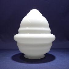 Ersatzglas Beleuchtungsglas Lampenschirm,Opalglas glänzend Ø147mm, Kragen Ø78mm