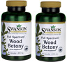 2 X Swanson Full Spectrum Wood Betony 400mg, 90 Capsules