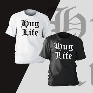Thug Life 2Pac Rap T-Shirt Funny Present Gift Kids Mens Unisex Womens Tee