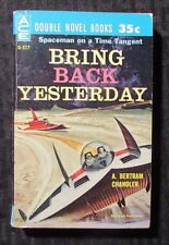 1961 The Trouble With Tycho / Bring Back Yesterday ACE Double D-517 Paperback VG