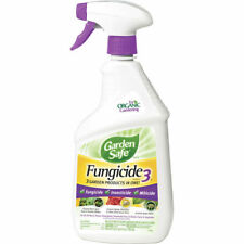 24 oz 3-in-1 Garden Safe Insect Killer Spray Fungicide Insecticide Miticide