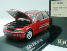 WOW EXTREMELY RARE BMW E46 328i Touring 2.8 24V 1999 Red 1:43 Minichamps-GTR/M3