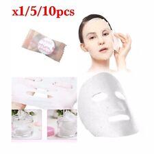*LITFLY Compressed Cotton Facial Face Mask Sheet Paper DIY Natural Skincare* UK