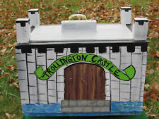 Action Figure Castle Play Set or Troll House Lrg Wood Boys & Girls Hand Made