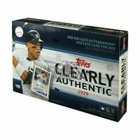 2020 Topps Clearly Authentic Baseball Factory Sealed Hobby Box