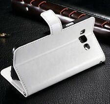For Samsung Galaxy S7 S8 S9 Plus S6 S5 Case - Luxury Leather Wallet Card Cover