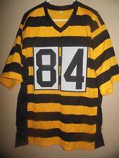 9b6a68326 Antonio Brown Unsigned Custom Sewn Bumblebee Football Jersey