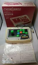 Usado Virtua Adhesivo HSS-0136 Blanco SEGA Saturn Controlador De Japón