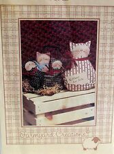 """Craft Pattern CAT Kittens for Sale by Farmyard Creations 5"""" & 8"""""""