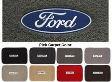 Lloyd Mats Ford Logo Classic Loop Front Floor Mats (1955-2000)