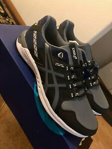 *NEW* ASICS Men's GEL-Citrek Running Shoes 1021A221 Black/Gray size 10.5