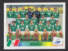 Panini-France coupe du monde 98 - # 353 MEXICO Team Group