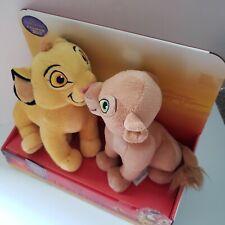 "New Disney The Lion King Kissing Simba & Nala 10"" Plush Stuffed Animals"