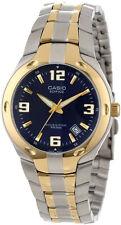 Casio Edifice gold & silver watch montre elegant collection seamaster orologio
