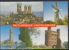 Lincolnshire Postcard - Views of Picturesque Lincolnshire    RR473
