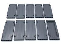 Lego 10 New Dark Bluish Gray Technic Panel Plates 5 x 11 x 1 Pieces