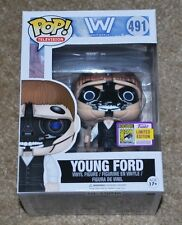 SDCC 2017 EXCLUSIVE FUNKO POP! WESTWORLD YOUNG FORD MIB