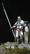 Built & Painted 75mm - Medieval Teutonic Knight