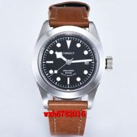 41mm Corgeut Luminous Black dial Sapphire Glass mechanical Automatic  Mens Watch