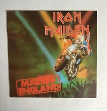 Iron Maiden Sticker - England