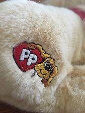 "Pound Puppies Cockerspaniel barking plush dog 14"" x 10"" 1984, 2004"