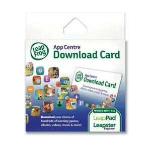 LeapFrog $30 AUD Credit For App Centre Game Download Code All Leappad Leapster