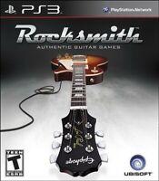 PS3 / Sony Playstation 3 Spiel - Rocksmith nur Software DEUTSCH mit OVP