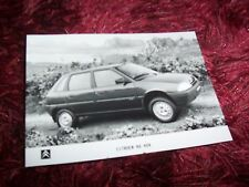Photo de presse / Press photo CITROEN AX 4X4 1992 //