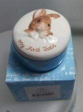 BEATRIX POTTER PETER RABBIT MY FIRST TOOTH BOX A5104 NEW AND BOXED
