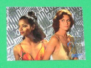 1996 James Bond 007 Connoisseur COLLECTION VOL 2 F/X-TCH Women INSERT Card W16!