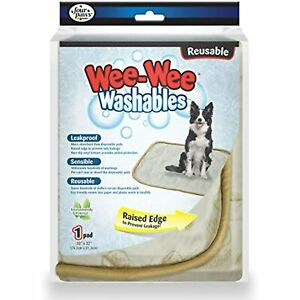 Wee-Wee Washables Reusable Puppy Potty Training Pad, Large