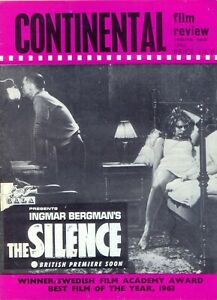 Continental Film Review magazine, April 1964. VGC. Free UK Postage.