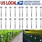 20 Outdoor Solar Power Lights Garden Pathway Landscape LED Lighting Yard Lamp