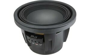 Alpine R-W10D4 R-Series 10 Inch Subwoofer with Dual 4-ohm Voice Coils *NEW*