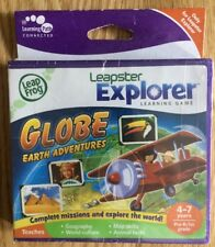 NOUVEAU & SCELLÉ-Leapfrog Leapster Explorer Jeu-Globe Terre Adventures (2010)