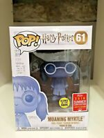 MOANING MYRTLE GLOW SDCC 2018 LTD CONVENTION EXCLUSIVE FUNKO POP HARRY POTTER 61
