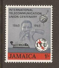 JAMAICA 1965 SG247 Centenary of ITU MNH (JB13950)
