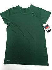Nike Dri-Fit Women's Performance Short Sleeve Shirt Green 349014 341 Large