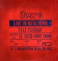 """THE DOORS """"LIVE IN NEW YORK"""" 2 LP VINYL NEU"""